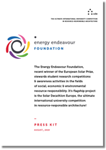Energy Endevour Foundation press kit